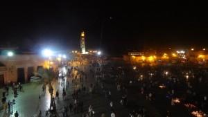 tag1 marrakesch djamaa al fna nachts