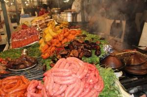 tag2 marrakesch abendessen vielfalt an den essenständen