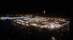 tag2 marrakesch ausklang am djamaa al fna