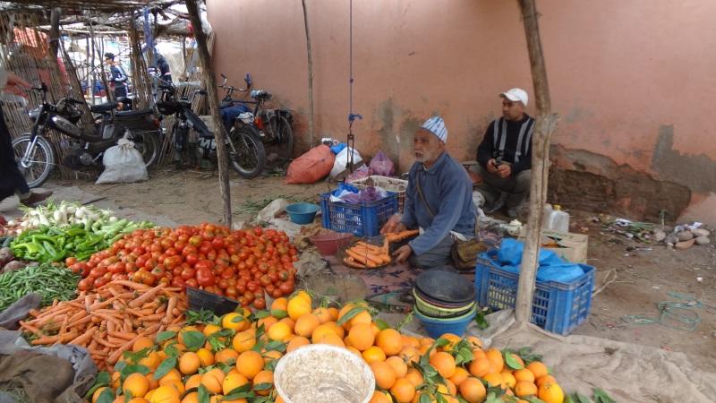 Berbermarkt bei Marrakesch