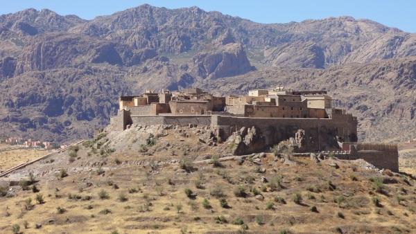 Beeindruckende Kasbahanlage im Antiatlas zwischen Tafraout und Taroudant