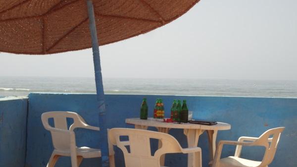 Strandbar in Sidi Ifni